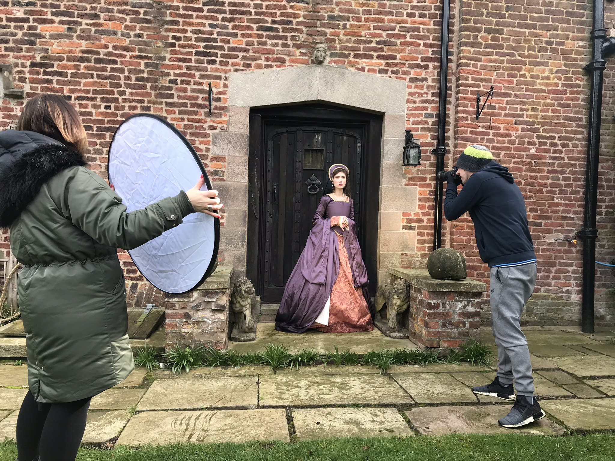 BTS Gawsworth Hall Session Day