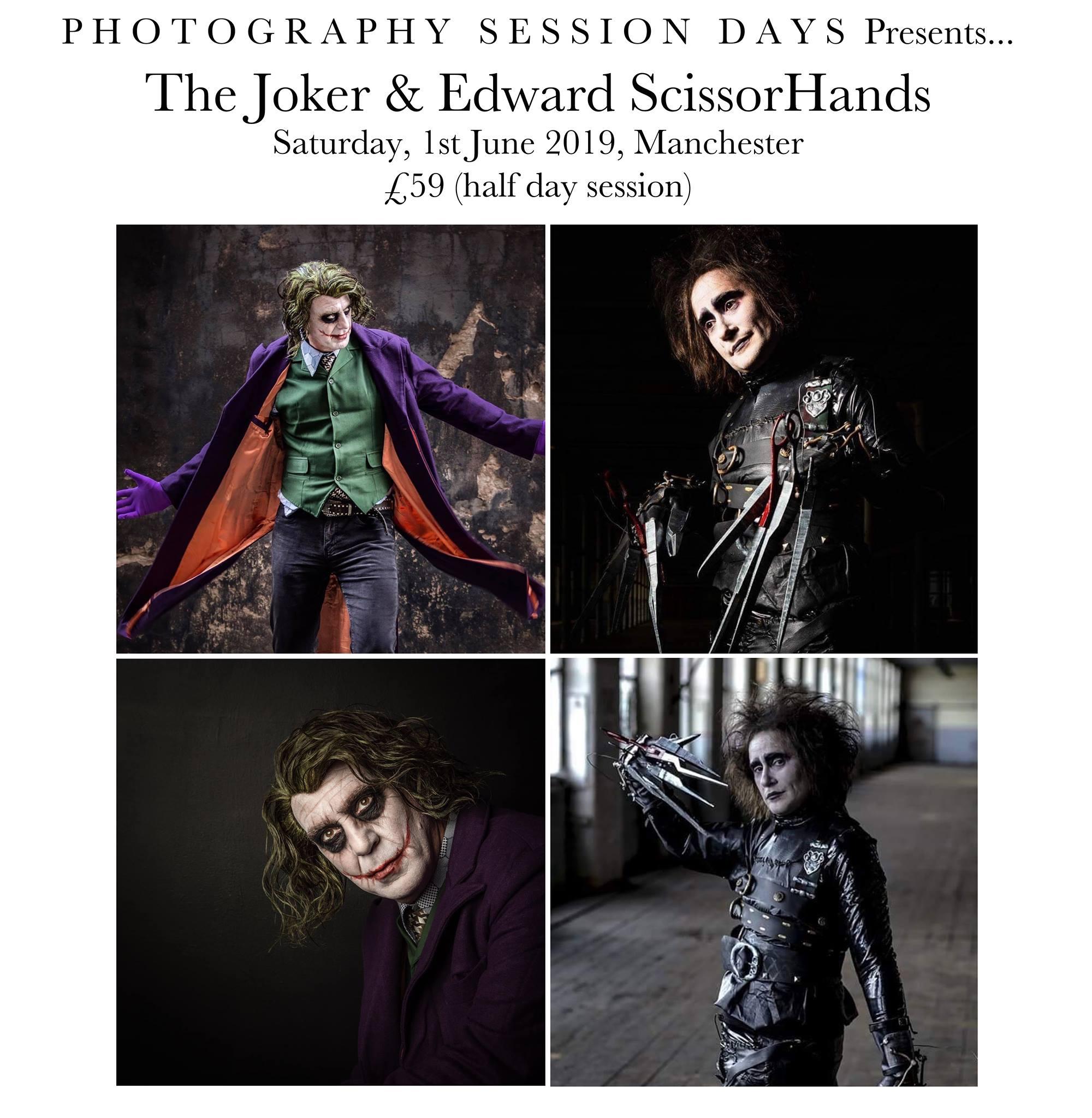 Joker and Scissorhands 1st June 2019