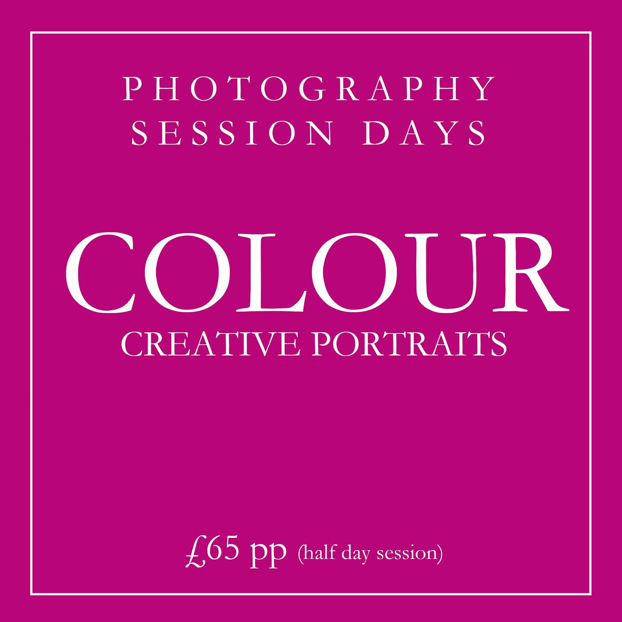 Creative Colour Portraiture Session Day