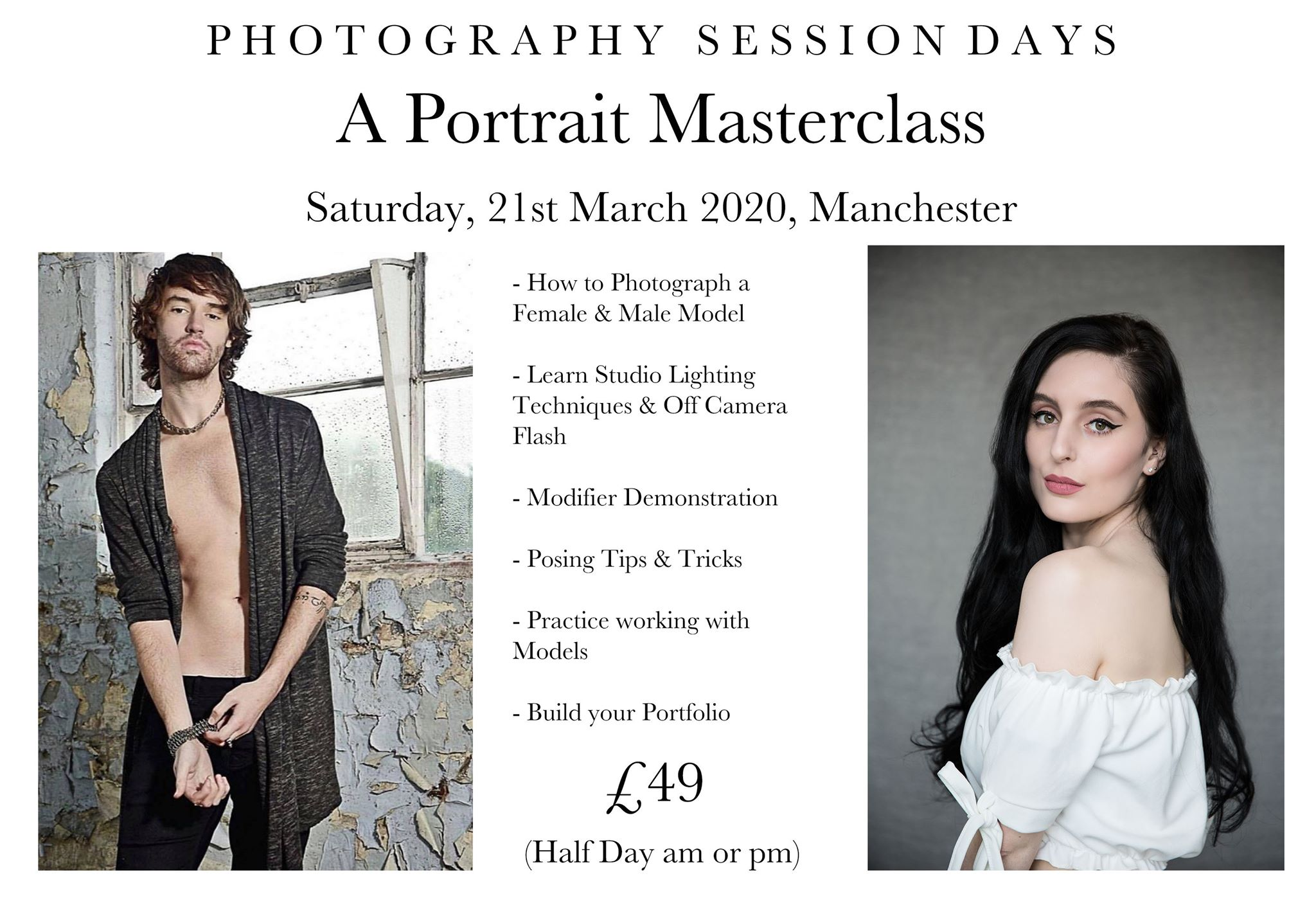 Portrait Masterclass 21st March 2020