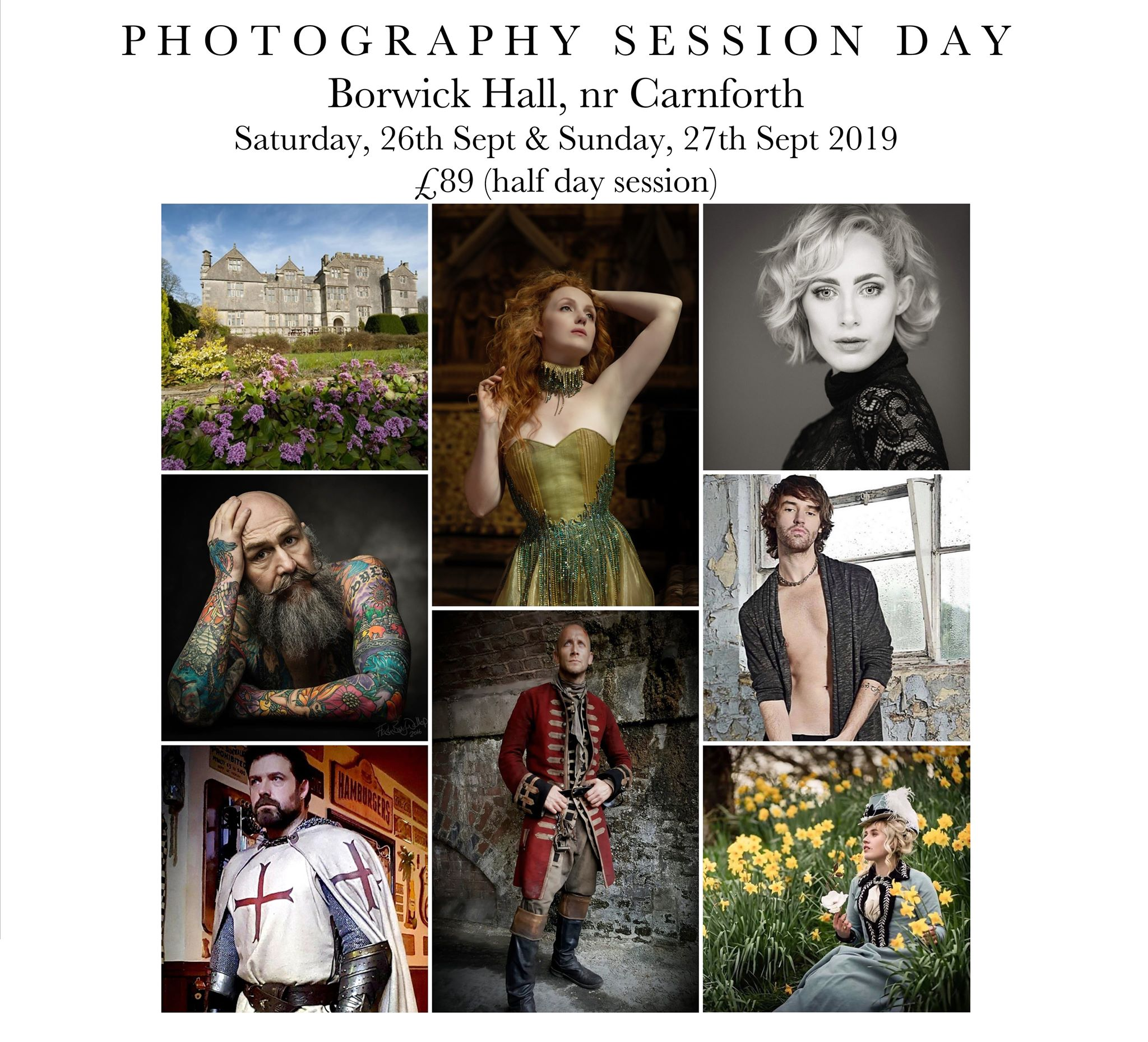 Borwick Hall Session Day