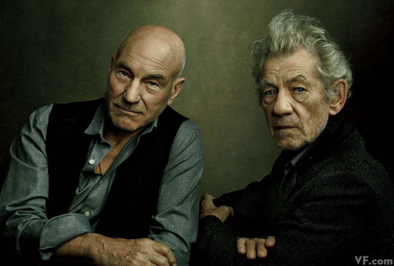Two Actors by Annie Leibowisz