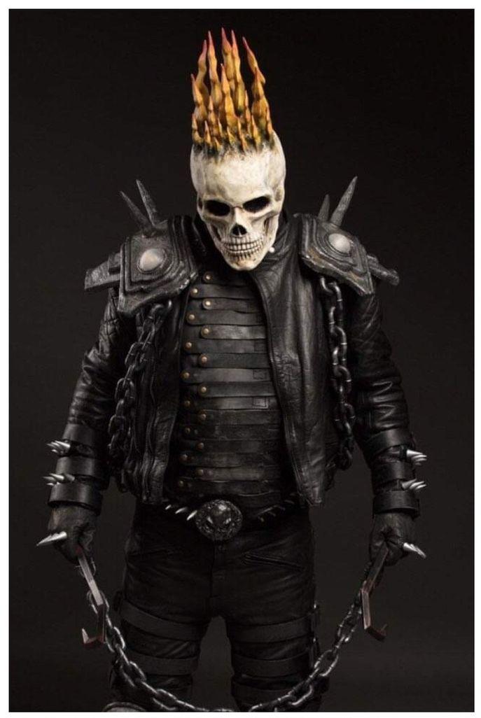 Ben Goodwin as Ghost Rider UK