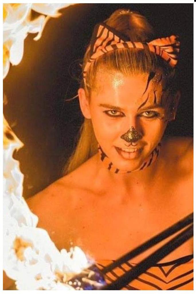 Lauren Olivia - Fire Performer