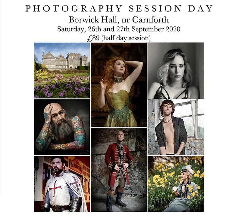 Borwick Hall Session Day