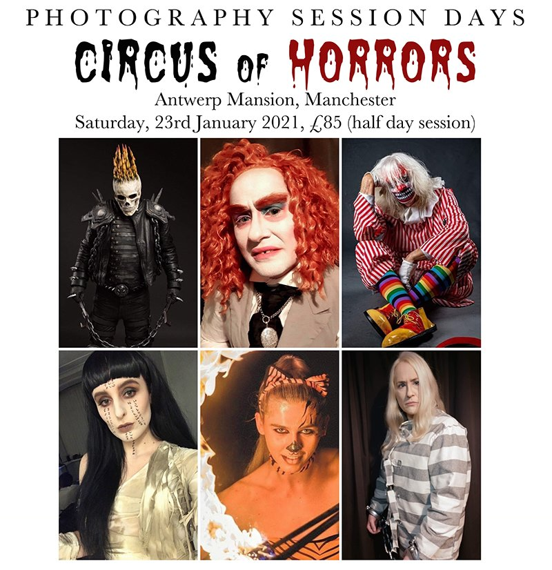 Circus of Horrors Session Day