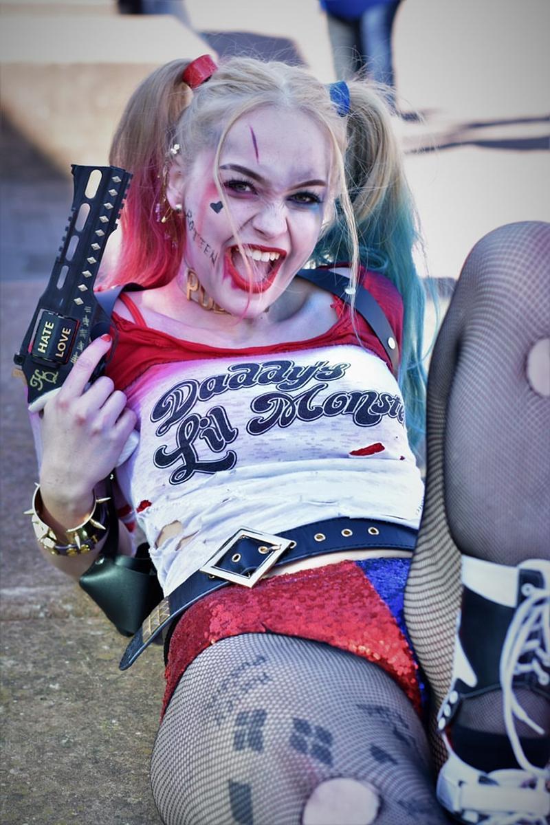Molly Rose as Harley Quinn