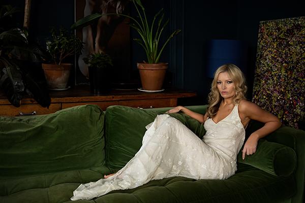 Denise as Kate Moss