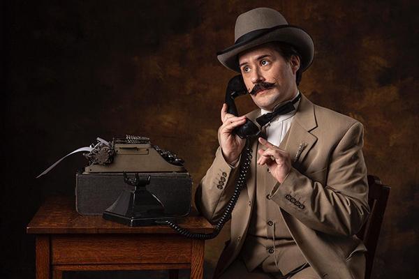 Jack Cutler as Hercule Poirot
