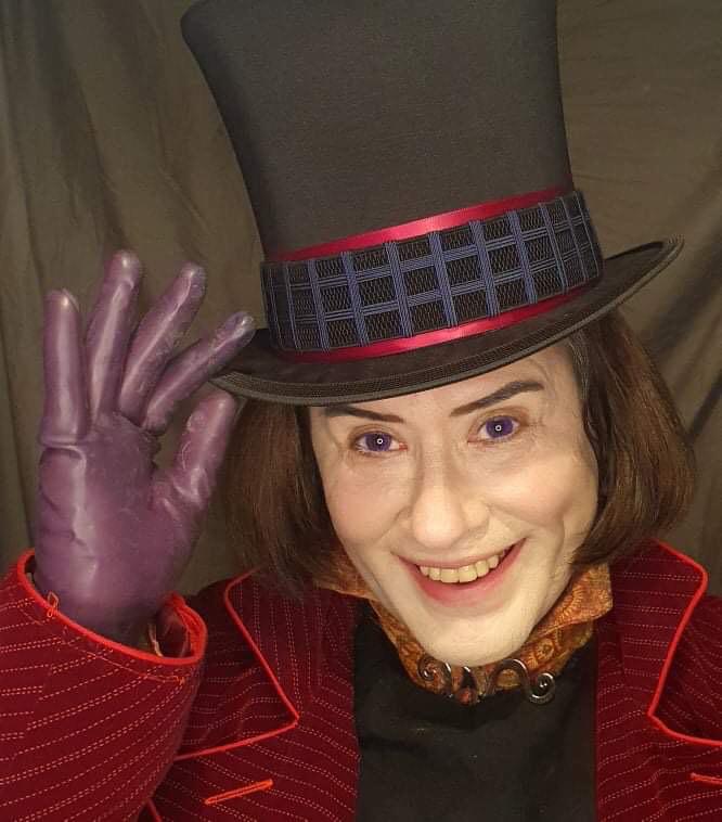 Jack as Willy Wonka