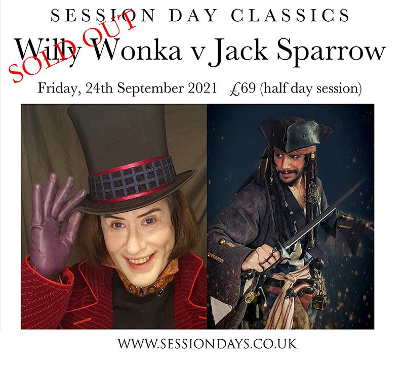 Willy Wonka v Jack Sparrow