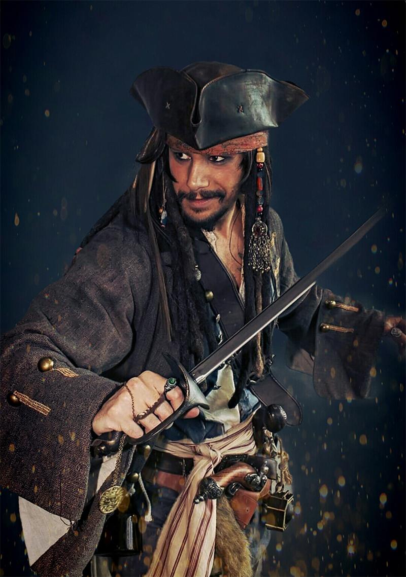 Kiefer as Jack Sparrow